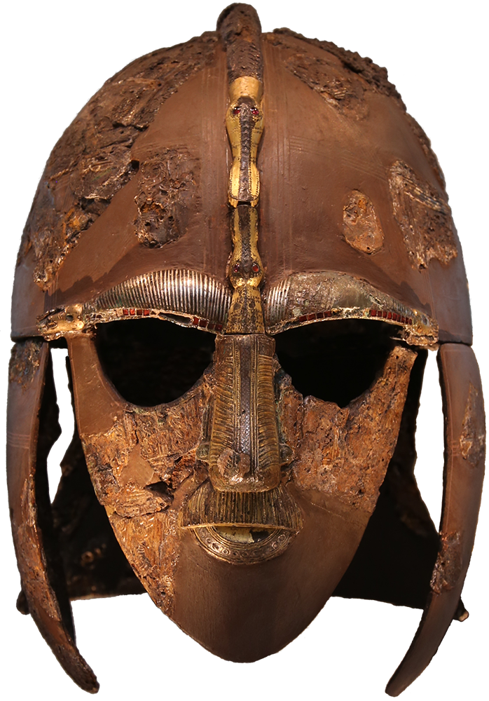 Sutton Hoo helmet 625 widely believed to have belonged to King Rdwald of East Anglia