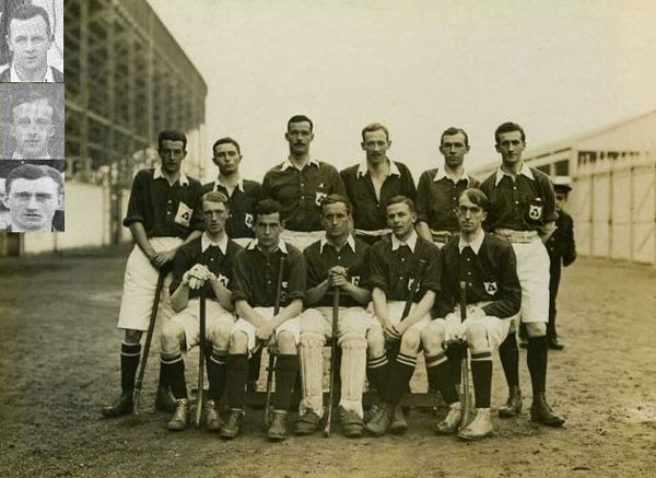 Irish Team photo 1908 Olympics