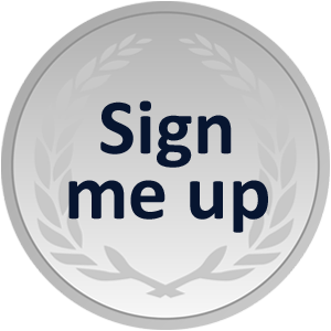 Silver sign up button