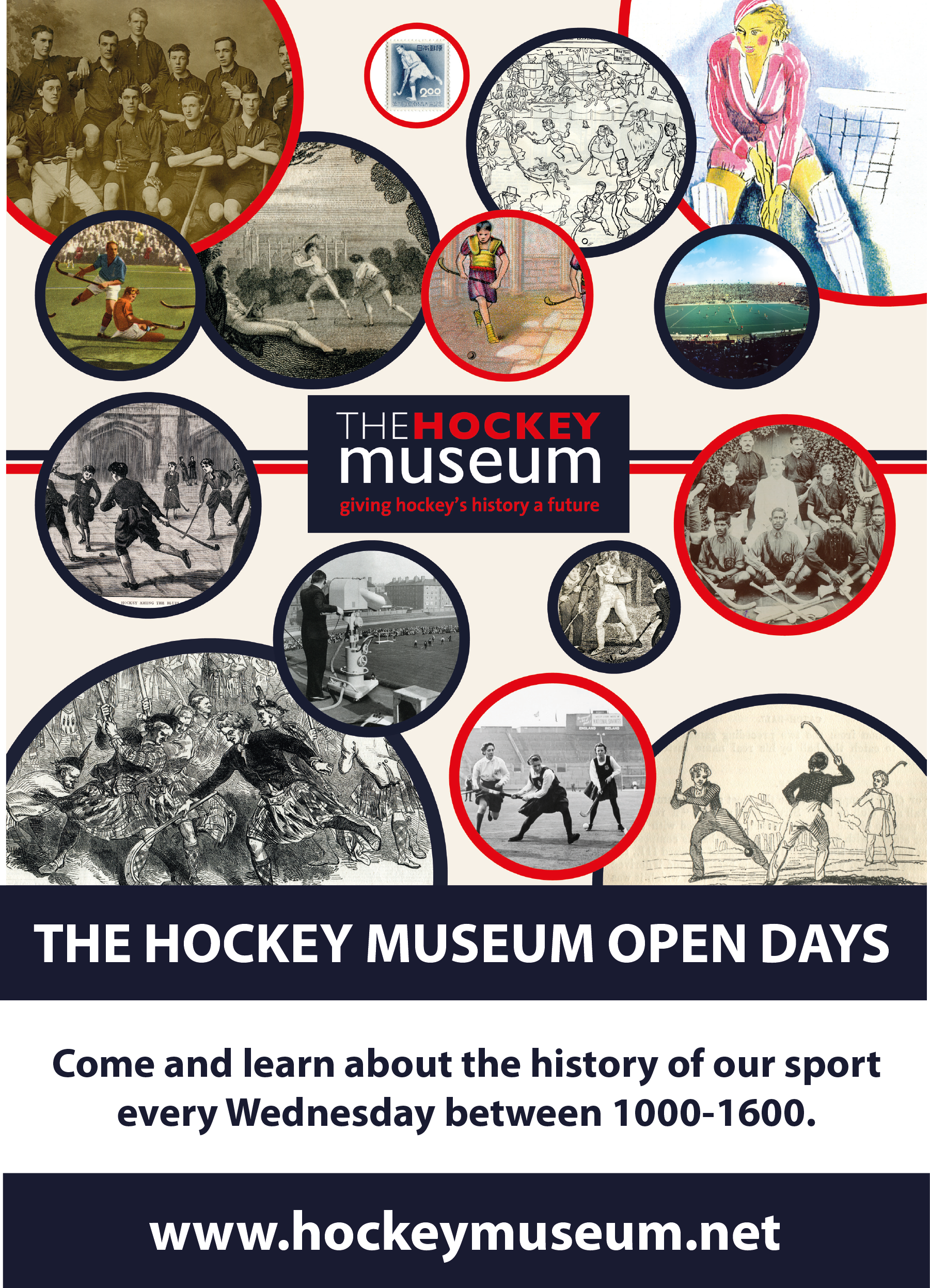 The Hockey Museum Open Days undated A3 poster 201706