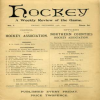 Hockey: The Weekly Publication In 1893