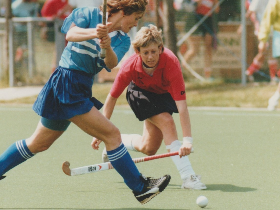 Jan Brittin in 1990 European Clubs Championships in Frankfurt 1990