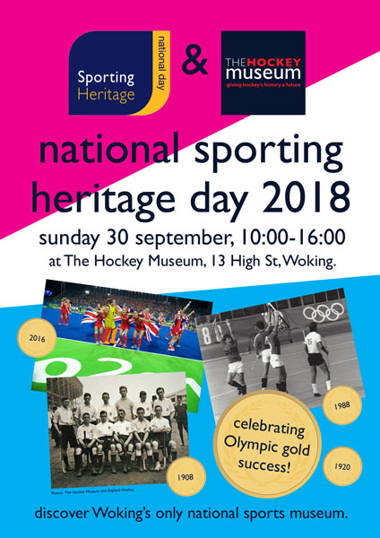 National Sporting Heritage Day poster