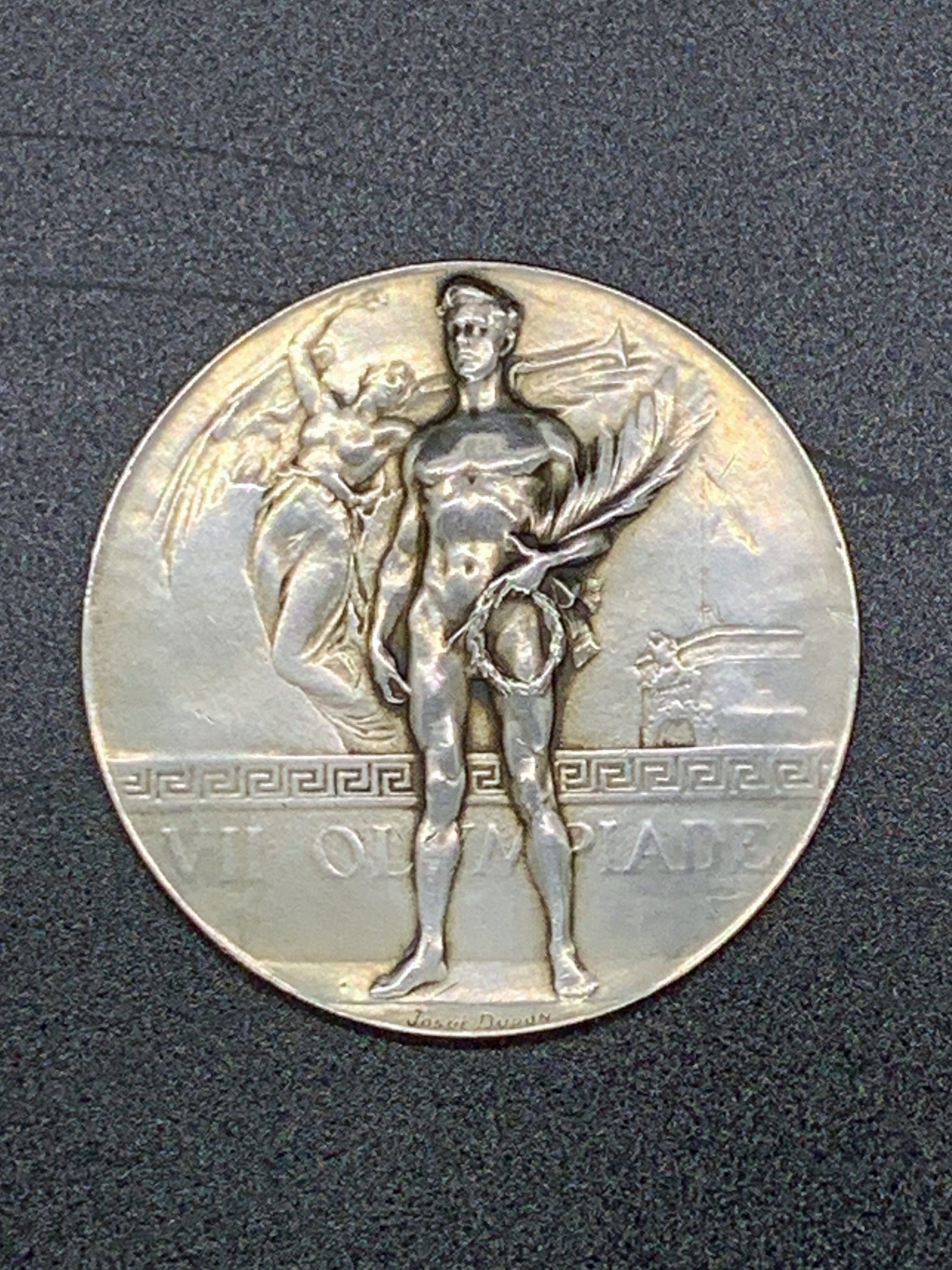 Gold medal Antwerp 1920 front